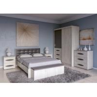 Спальный гарнитур Литисия (Дуб крафт+Серый графит)