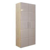 Шкаф 2-х дверный София Кальпе (Латте глянец)