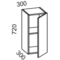 Шкаф навесной 300 (Пластик Альфа)