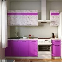 Кухонный гарнитур АРТ-Фиолет 1.8 м.