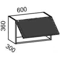 Шкаф навесной 600*360 (Дуб золотой+бронза)