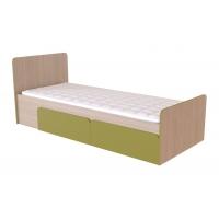 Кровать с ящиками Скейт-3 Лен