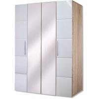 Шкаф 4-х дверный София Кальпе (Белый глянец)