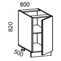 Тумба рабочая 600 (пластик Альфа)