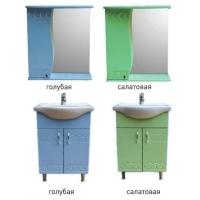 Комплект мебели в ванную Элегия 11, цвета разные