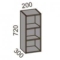 Шкаф навесной 200 открытый