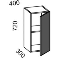 Шкаф навесной 400 (МДФ баклажан)