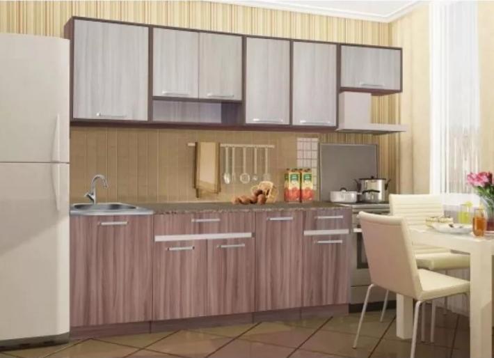 Кухня Ясень Шимо (Модульная)