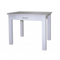 Стол обеденный (постформинг) с ящиком №3