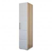 Шкаф 1-дверный София Кальпе (Белый глянец)