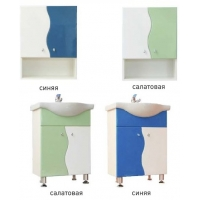 """Комплект мебели в ванную Элегия 15 """"Волна"""", цвета разные"""