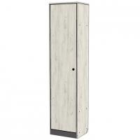 Шкаф 1-дверный Крафт (дуб крафт+серый графит)