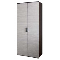 Шкаф для белья 2х дверный 800*380 Колибри-1 (Зебрано)
