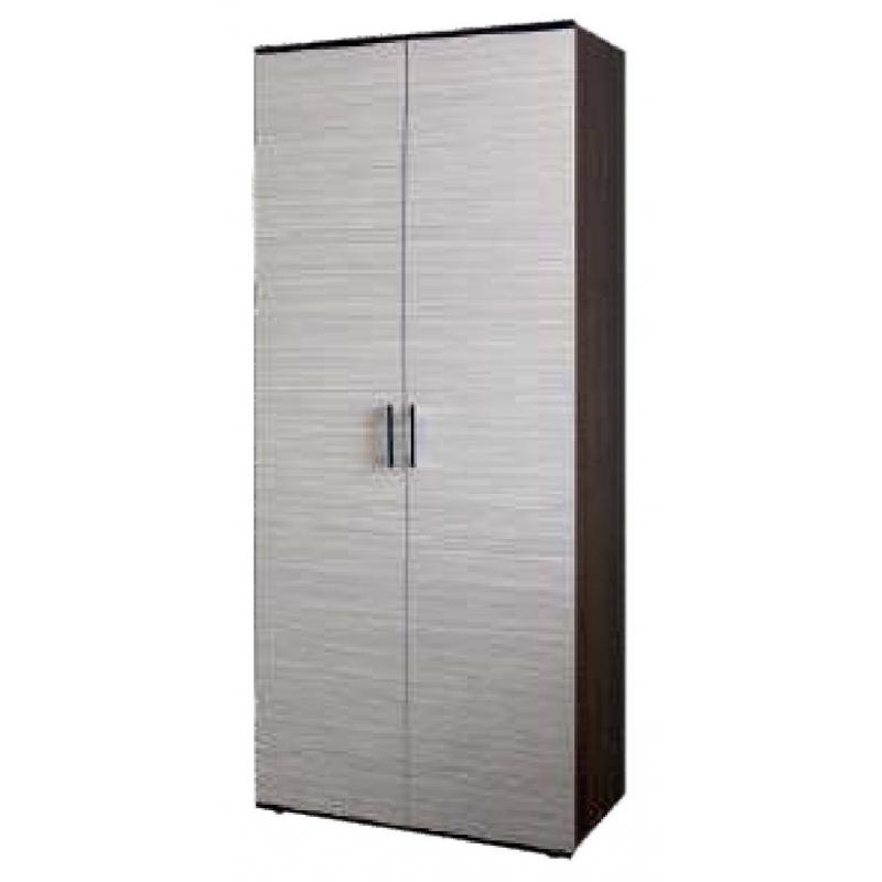 Шкаф для одежды 2х дверный 800*550 Колибри 1 (Зебрано)