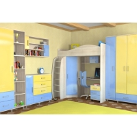 Детская мебель Алёшка МДФ с фрезеровкой Импульс