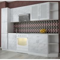 Кухонный гарнитур Альфа 2.6 м. (пластик)