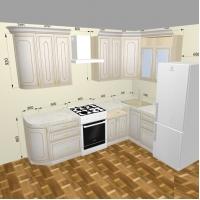Кухонный гарнитур Анжелика 2700*1400мм