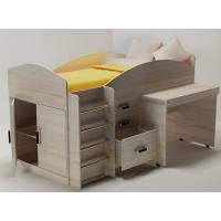 Кровать чердак с рабочей зоной Алиса