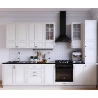 Описание кухни Бланко белая/синяя