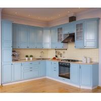 Описание кухни Бланко синяя/белая