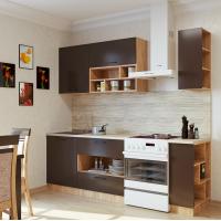 Кухонный гарнитур Бронза 1.7 м. (Серия Эконом)