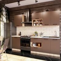 Кухонный гарнитур Бронза 2.0 м. (Серия Эконом)