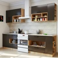 Кухонный гарнитур Бронза 2.2 м. (Серия Эконом)