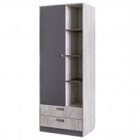 Шкаф для одежды с нишей Крафт