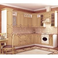 Кухонный гарнитур Дуб белёный с патиной орех 2.9*2.4 м.