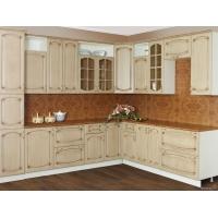 Модульный кухонный гарнитур Дуб белёный с патиной Орех