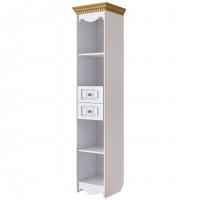 Шкаф открытый Винтаж (белый)