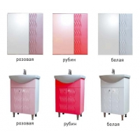Комплект мебели в ванную Ажур. Цвета разные