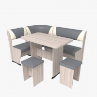 Кухонный уголок Горизонт-2 со столом Горизонт