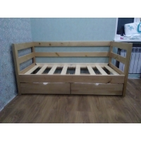 """Кровать""""Каприз"""" массив из натурального дерева"""