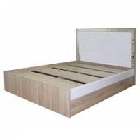 Кровать София Кальпе 1200х2000 (Белый глянец)