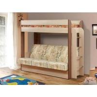 Кровать двухъярусная с диваном Колибри