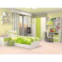 Мебель для детской Дельта лайм