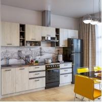 Кухонный гарнитур Крафт 3.2 м. (Серия эконом)