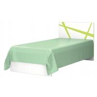 Кровать Дельта 0,9 лайм