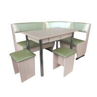 Кухонный уголок Горизонт-2 со столом Горизонт-3