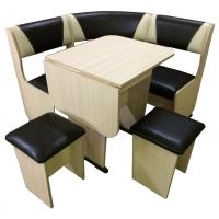 Кухонный уголок Горизонт-2 МИНИ + стол Горизонт-1