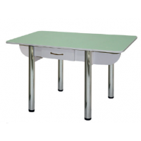 Стол обеденный раскладной с ящиком Лагуна-4