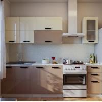 Описание кухни Латте глянец