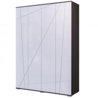 Шкаф 4-х дверный (серый графит)