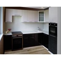 Модульный кухонный гарнитур Страйп Чёрный и/или Белый
