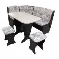 Кухонный уголок со столом и табуретами Лагуна