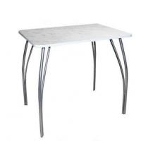 Стол обеденный Ойбер с металическими ногами 800 х 590