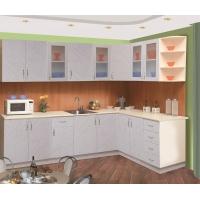 Модульный кухонный гарнитур Пластик Альфа