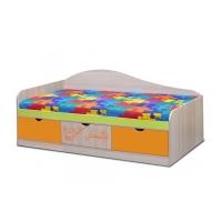 Кровать 0.8*2.0 с ящиками Почемучка