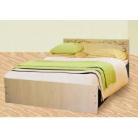 Кровать двойная Колорит с фотопечатью 1,4
